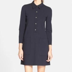 Theory Erimenthia Ponte Shirtdress
